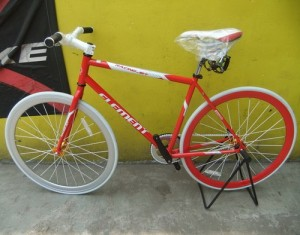 Sepeda Fixie Element Racing Jet